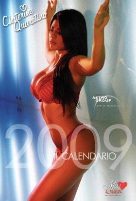 Calendario MISS ALTAMURA 2009 - Miss Magazine
