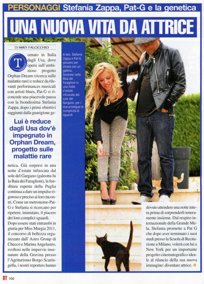 Stefania Zappa e Pat-G su Di Tutto! - Miss Magazine & Beautiful Day